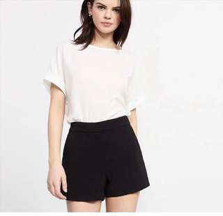 Dynamite high waist black shorts 高腰黑色顯瘦短褲