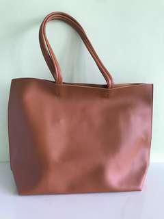 Brand new with tag faux leather Tote Bag
