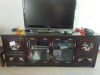 """5 ft"""" Rosewood TV Console"""