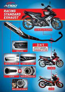 APIDO EXHAUST LC135