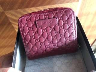 Authentic Gucci Microguccisimo Wallet