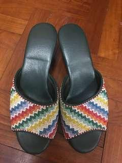 Beaded Nonya sandals