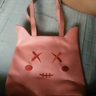 Human cat bag
