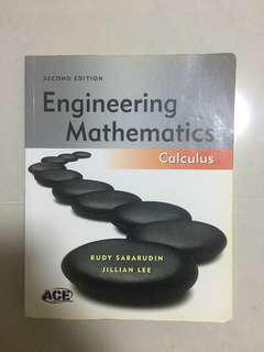 Engineering Mathematics Calculus Book