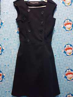 outer, dress atau blazer Hitam Uk Xs