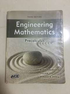 Engineering Mathematics Precalculus Book