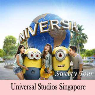 Universal Studio Singapore (USS) E-ticket (ONE DAY PASS)