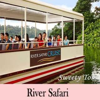 River Safari with Amazon River Quest & River Safari Cruise