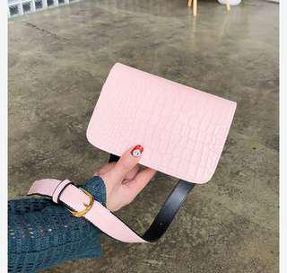 Leather bag small