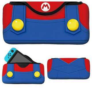 全新 任天堂 Switch 主機包 收納包 保護包 保護殼 保護盒 馬里奧 Mario Quick Pouch
