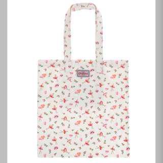 [PO] Cath Kidston x Kakao Woodstock Ballerina Rose Cotton Book Bag