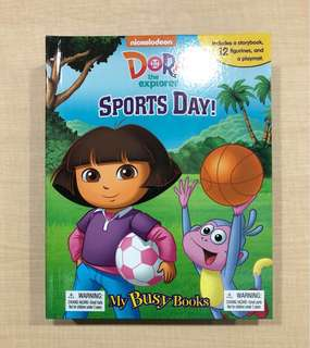 Dora Sports Day - My Busy Book