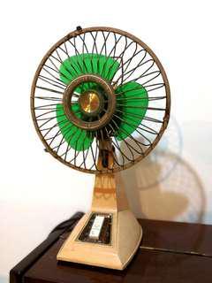 Table Fan Antique Kipas Antik Rare Collectible Running