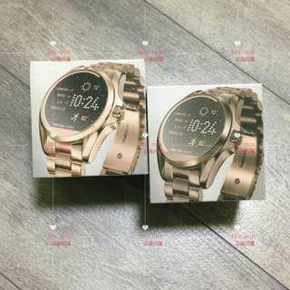 正品 Michael Kors Smart Watch 智能時尚錶 玫瑰金咖啡銅 銀 MKT5004 MKT5007