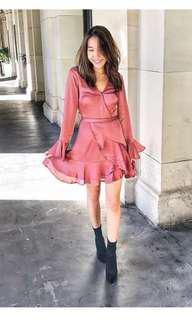 PRINCESS POLLY Wrap Dress Size S/8