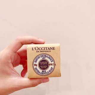 🚚 歐舒丹 乳油木牛奶皂