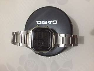 Casio Original - Stainless - Silver - AE-1200WHD