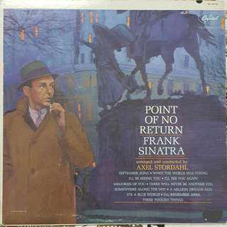 FRANK SINATRA-POINT OF NO RETURN-LP