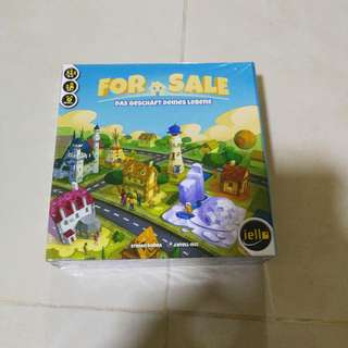 For Sale Board Game German version