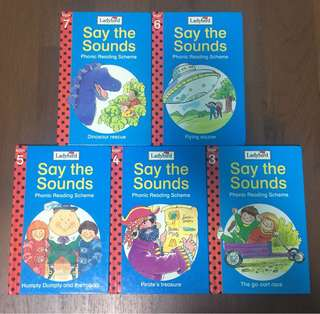 Ladybird Say the Sounds Phonic Reading Scheme