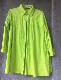 Neon Green Cover Up