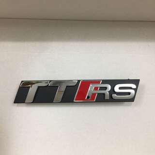 TTRS Emblem for Audi TT