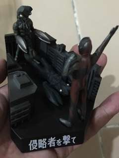 Mini Ultraman Baltan Meikan Diorama