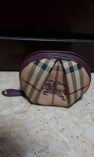 Authentic Burberry Large Coin Pouch