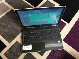 HP Pavilion 15 Core i5 Kabylake 4GB 1TB 15.6inch LED Touchscreen Win10