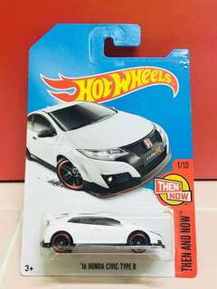 Hotwheels Honda Civic Type R