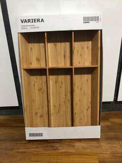 Ikea VARIERA Cutlery tray, bamboo