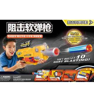 Nerf Gun (Automated) with 10 Continual Shots (Battery operated)