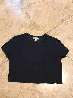 ESPRIT black crop tee