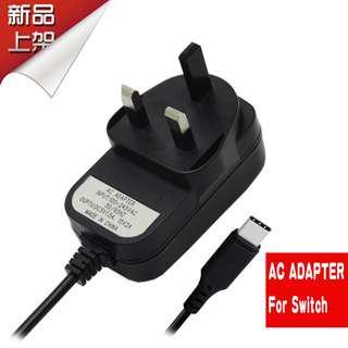 全新 Switch 110-240V 快速充電火牛 - 可搭配原裝 代用TV Dock USB-Type C HDMI轉換器 Charger