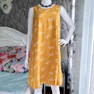 Old Navy Mustard Dress