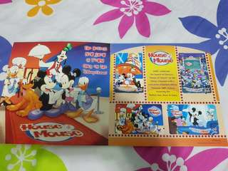 Disney's House of Mouse 2002 MRT cards