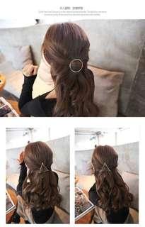 Korean style triangle hair pin