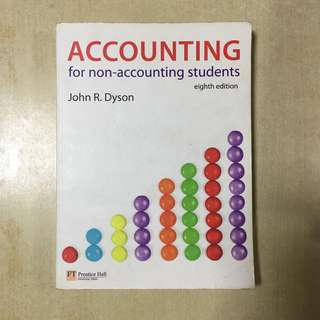 Accounting for non-accounting students eighth edition