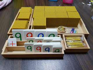 Montessori Golden Beads (Bank Game)