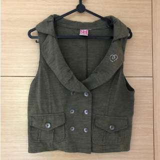 All Time Favourite Vest (Khaki Green)