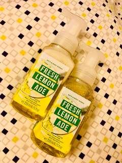 Bath & Body Works Fresh Lemon Ade Hand Soap