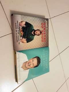 2x Jamie Oliver Cookbooks
