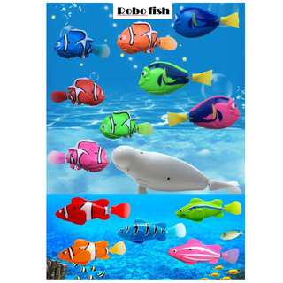 Robofish (Water activated swimming fish) Finding Nemo 2 designs