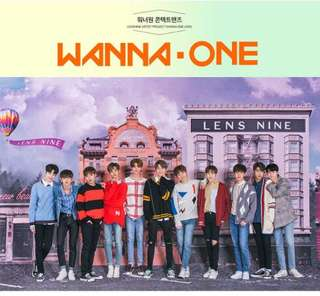 [PREORDER] Wanna One X Lensnine