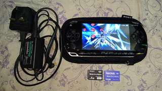 PSP 1006 Model, Black Color~ With 2, 4GBMemory Stick Duo. Black 4GB Card ( 4 iso GAMES!!), Blue 4GB Card ( 2 iso GAMES!!) & Charger For PSP!!!. 100% WORKING CONSOLE & 100% NO PROBLEM 👍!!!. 80% New Looking PSP!!!. ** PLEASE REPLY ME IN ENGLISH!! 🤗**