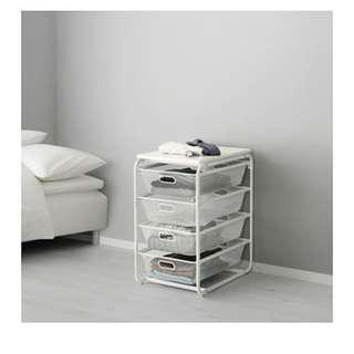 Ikea Algot Rack Frame and Basket