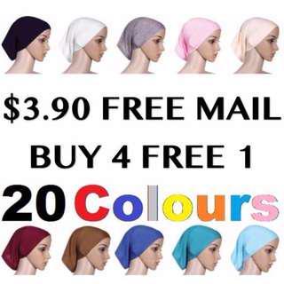Inner Cap hijab tudung FREE MAIL