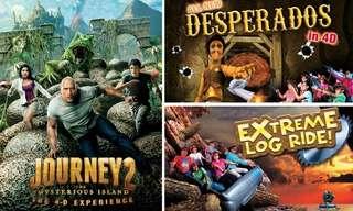 4D Adventureland 4 in 1 (new with Haunted Mine Ride)