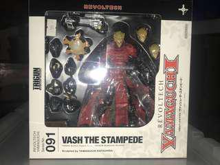Kaiyodo revoltech yamaguchi 091 trigun the Vash the Stampede