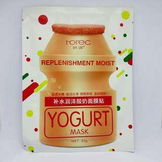 Rorec Yogurt Mask sheet / masker muka